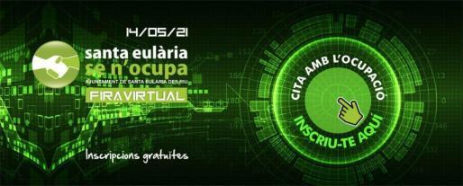 Imagen promocional de la Feria Virtual de Eulària Se n'Ocupa.