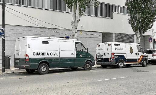 El acusado fue detenido por agentes de la Guardia Civil.