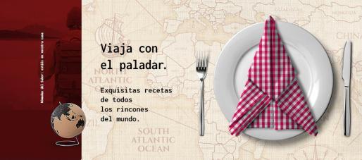 A través de su web, Nomádika ofrece platos de todos los rincones del mundo.