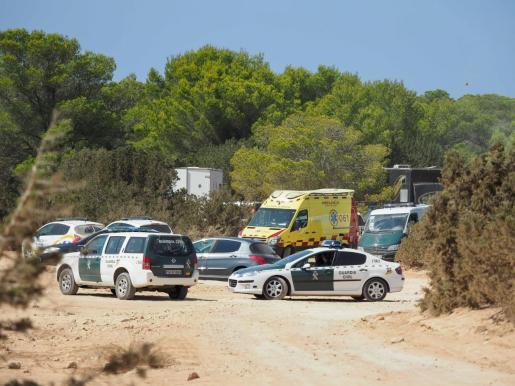 Imagen de archivo del desmantelamiento de una fiesta ilegal en Sant Josep.