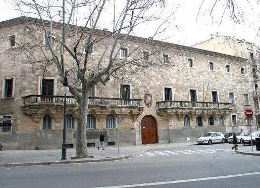 Fachada del Tribunal Superior de Justicia de Baleares.
