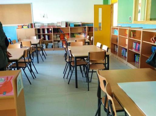 Una imagen de archivo del aula de un centro educativo.