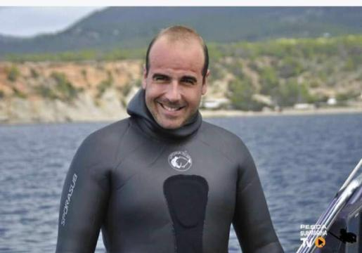 Diego Alcalde, portavoz de la plataforma en Ibiza.