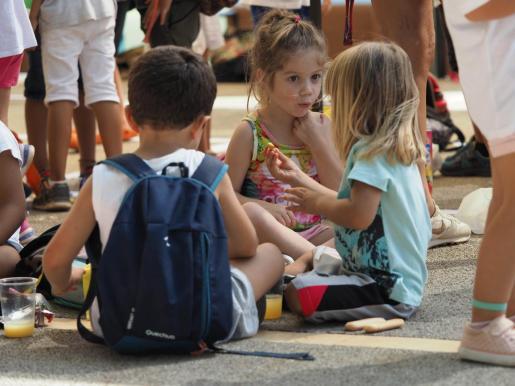 Imagen de archivo de una escuela de verano en Ibiza.