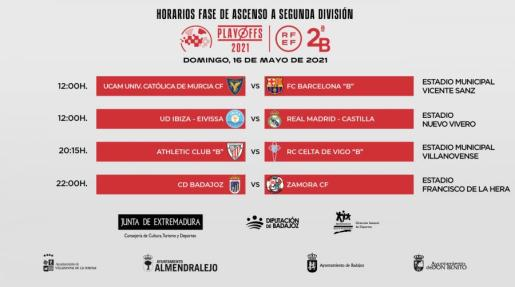 OFICIAL | El duelo entre la @ibizaud y el @lafabricacrm cambia de horario.  El partido se jugará el domingo 1… https://t.co/vRXf2L40Cc