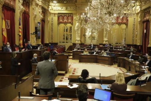 Vista del Parlament balear.