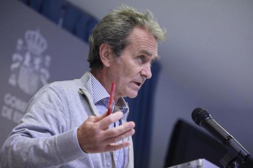 El director del Centro de Alertas y Emergencias Sanitarias (CAES), Fernando Simón.