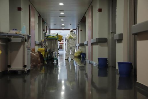 Interior de uno de los hospitales de las Islas.