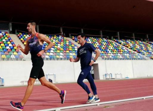 Marc Tur , en 'marcha' hacia los Juegos Olímpicos.