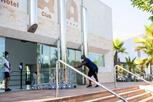 Un hotel de Ibiza durante la pasada temporada.