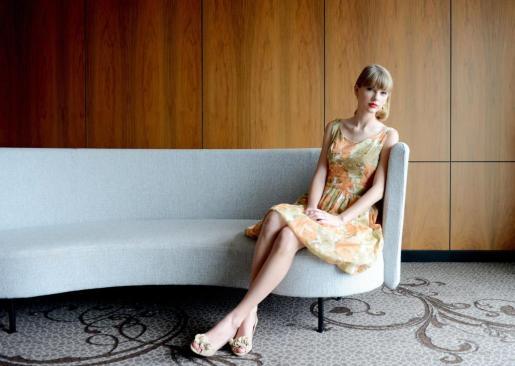 La canante Taylor Swift.