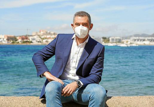 Juan Miguel Costa, director insular de Turismo del Consell d'Eivissa.