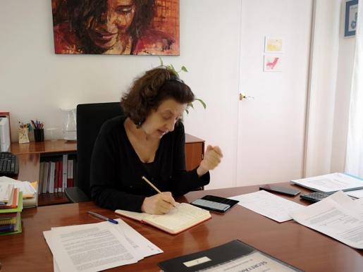La consellera d'Afers Socials, Fina Santiago, en una imagen de archivo.
