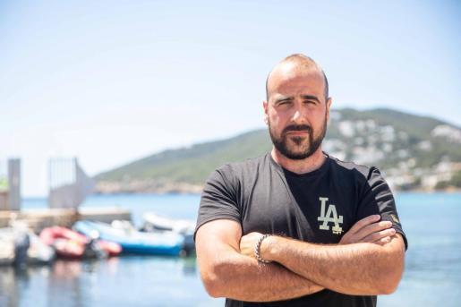 Diego Alcalde, en Santa Eulària.