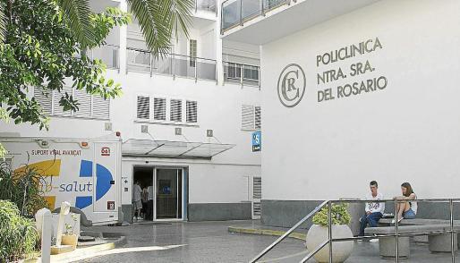Los heridos fueros trasladados a la Policlínica Nuestra Señora del Rosario.