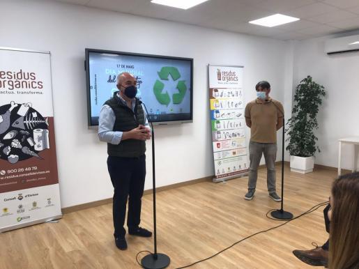 Presentación del aula ambiental de Ca na Putxa.