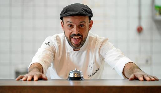 José Miguel Bonet, presidente de la Asociación de Chefs de Ibiza y Formentera y chef de Es Ventall.