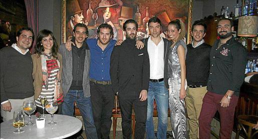 Carmen Alosete, Alberto Torrens, Nando Torres, Martín Garrido, Carlos Prieto, Santiago Cebrián, Laila Kachan, Marc Alcolea y Guillermo Dezcallar.