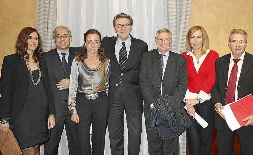 Nuria Oliver, Carlos Mulet, Carmen Zaforteza, José Francisco Ibáñez, José Manuel Mas, María José Bonet y Javier Navarro.