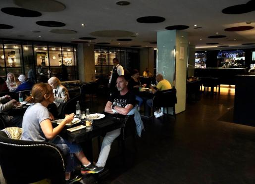 Interior de un bar en Palma.