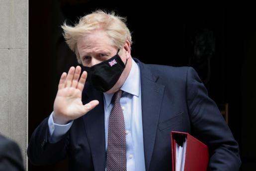 El primer ministro británico Boris Johnson en una reciente imagen.