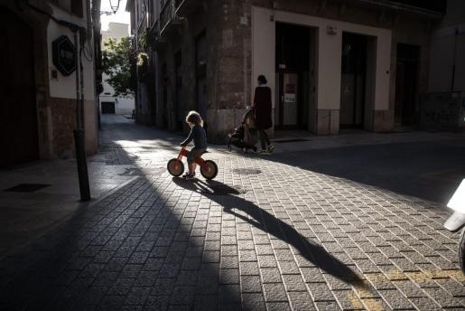 Calles del centro de Palma.