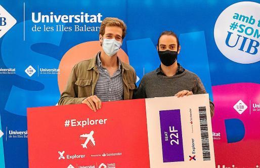 Los ingenieros Alfred Schlesier y Jordi Thomàs han ganado el pgrograma Explorer 2021.