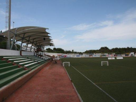 Campo de fútbol de Santa Eulària.