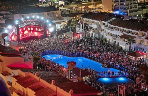 Imagen de archivo de una discoteca de Ibiza.