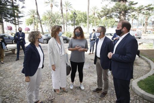 Satisfacción. La visita de la ministra Teresa Ribera fue acogida con satisfacción por el Govern al comprometerse a inversiones necesarias para la sostenibilidad de Balears.