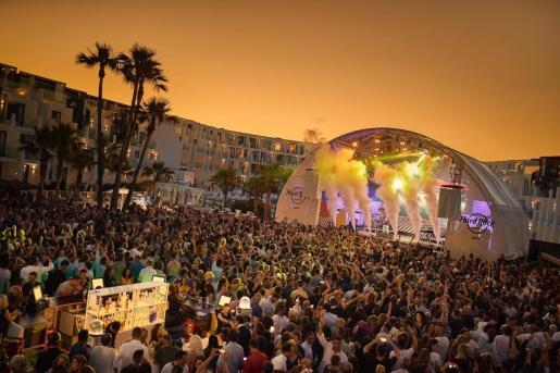 Hard Rock Hotel Ibiza acogerá el 25 de junio la prueba piloto para iniciar la reapertura del ocio nocturno.
