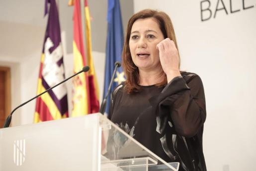 La presidenta del Govern Balear, Francina Armengol, en una imagen de archivo.