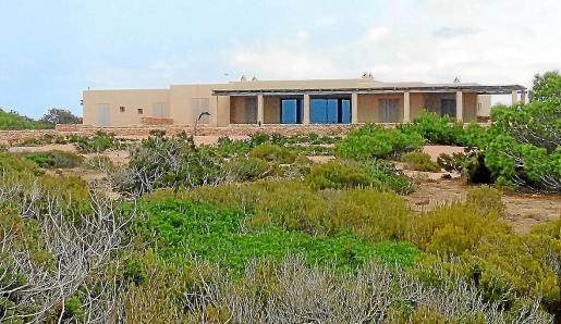 Imagen de la mansión del dueño de Ferrovial en Formentera.