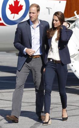 El principe Guillermo y su mujer Catherine, Duques de Cambridge.
