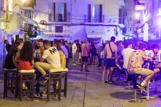 Ocio nocturno en Ibiza durante el pasado verano.