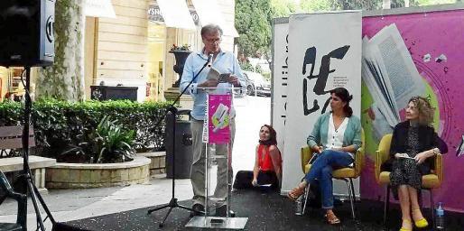 Presentación en la Fira del Llibre de Palma del último libro de Ramon Mayol.