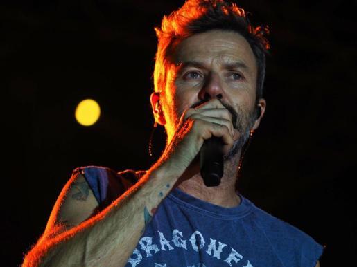 Último concierto de Pau Donés en Ibiza en 2017.