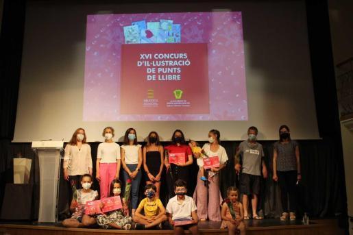Ganadores del XVI de Puntos de Libro de la Biblioteca Municipal de Santa Eulària.