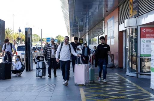 El aeropuerto de Ibiza, la pasada semana.