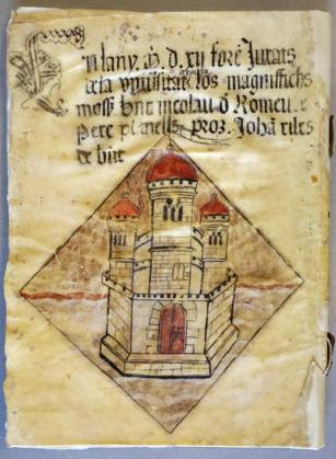 Uno de los documentos que se pueden consultar en el Arxiu.