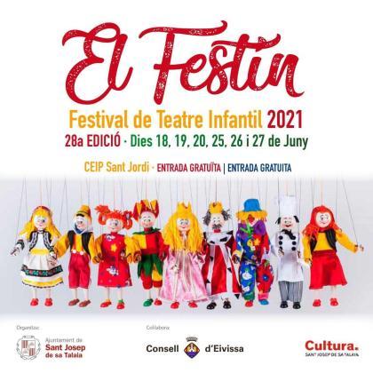 El Festín vuelve los dos últimos fines de semana de junio a Sant Jordi con 14 espectáculos infantiles.
