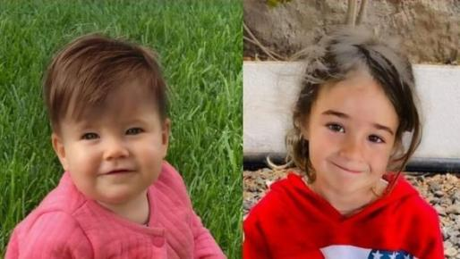 Anna y Olivia, de 1 y 6 años respectivamente.