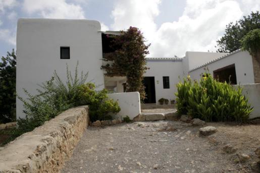 Una casa payesa en Ibiza.