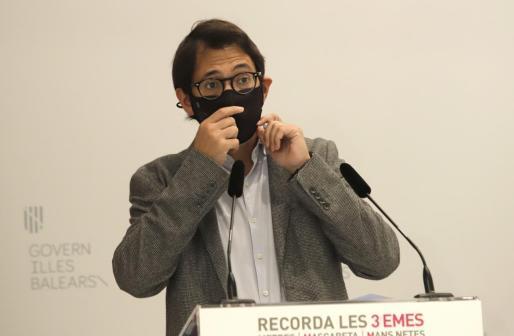 El portavoz del Govern, Iago Negueruela.