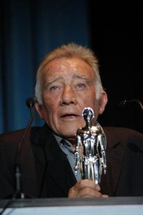 El actor Fernando Guillén, en una de sus últimas apariciones públicas.