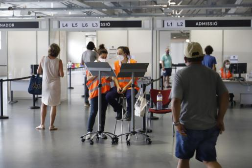 Controles en aeropuertos de Baleares.