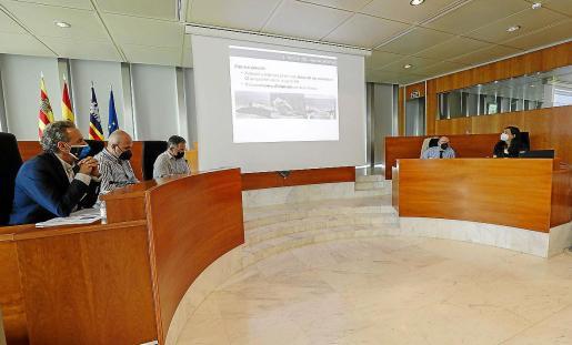 La presentación del informe tuvo lugar ayer en el Consell d'Eivissa.