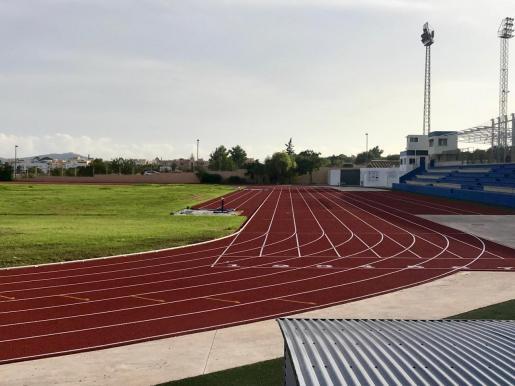 Una imagen de archivo de las pistas de atletismo de Can Misses.