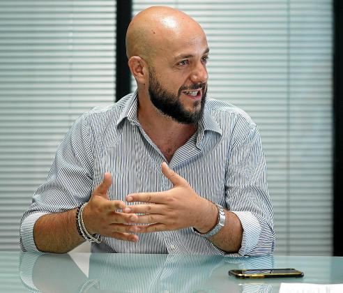 Domenico d'Aniello, Presidente de la asociación Dj's i Productors d'Eivissa i Formentera (DIPEF).