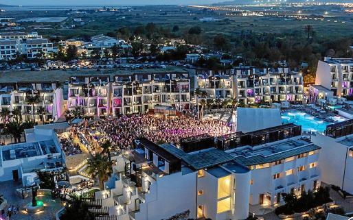 Imagen de archivo del Hard Rock Hotel, donde se celebrará el concierto y la fiesta Children of the 80's.